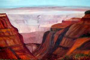 Landscape Painting - Grand Canyon II